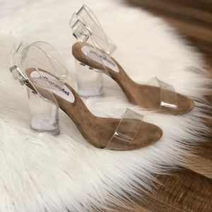 Jeffery Campbell • Twelve Clear Free People Heels